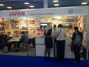 JAPAN-TOURISM-CULTUREブースの写真