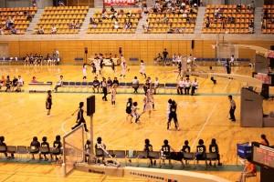さいたま市記念総合体育館での大会写真