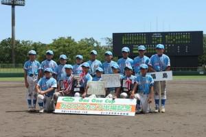 準優勝:相馬東部スポーツ少年団野球部(福島県)