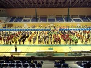 第4回スポーツ吹矢関東オープン大会開会式の写真
