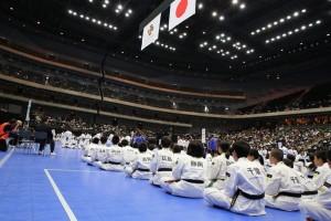 2014年少林寺拳法全国大会の写真2