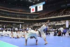 2014年少林寺拳法全国大会の写真3