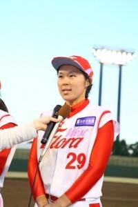 MVPのフローラ池山あゆ美選手の写真