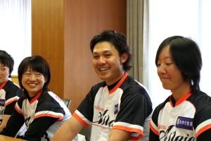 埼玉アストライア表敬訪問の写真3