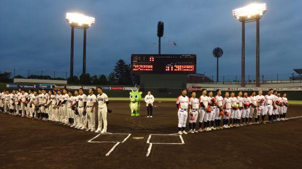 ルートインBCリーグ「武蔵ヒートベアーズvs新潟アルビレックス・ベースボール・クラブ」戦が開催されました!
