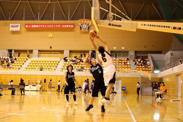 第21回関東ママさんバスケットボール交歓大会の写真2