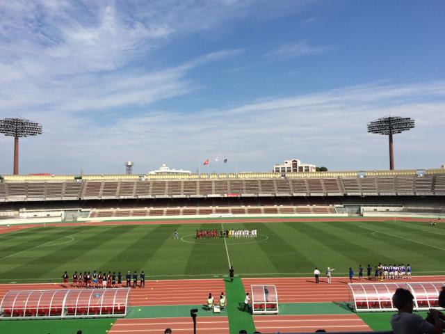 関東大学サッカーリーグ戦 第10節 「早稲田大学 vs 明治大学」が開催されました!
