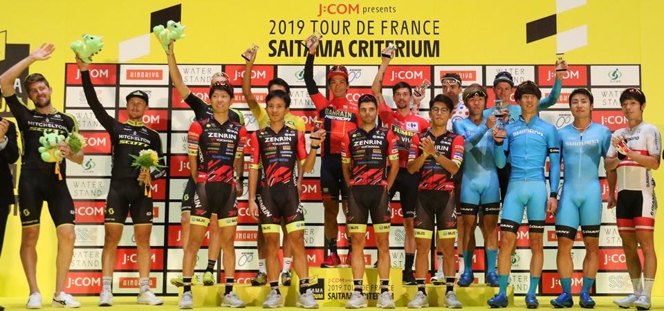 「J:COM presents 2019ツール・ド・フランスさいたまクリテリウム」を開催しました!